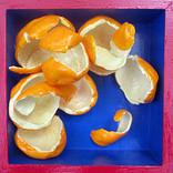 "Orange Peels 6""x6""x2"""