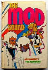 The Mod Squad 1969 Vintage Book Ciover I