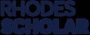 Rhodes Scholar logo