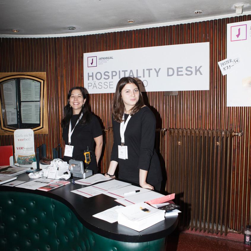 Unser Hospitality Desk Team