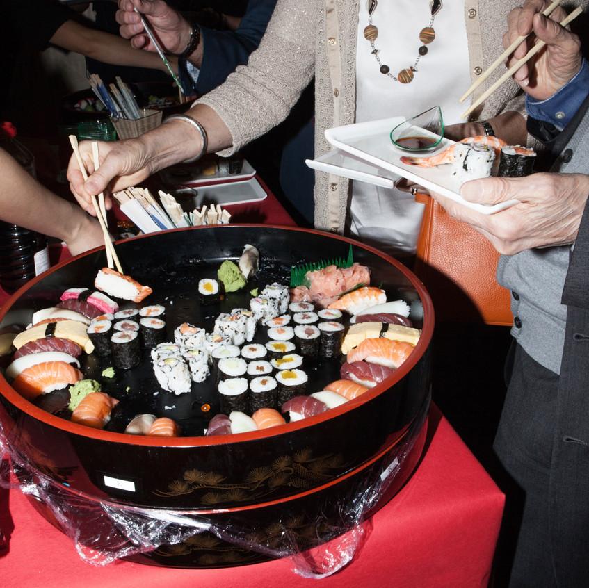 Ein bisschen Sushi...