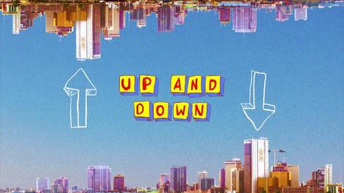 "Riton + Kah-Lo ""Up and Down"" Animated Visualiser"