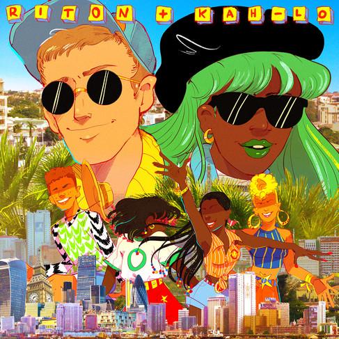 """Riton x Kah-Lo """"Foreign Ororo"""" (Album Cover)"""