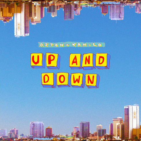 """Riton x Kah-Lo """"Up and Down"""" (single cover)"""