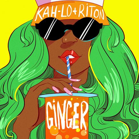 "Riton + Kah-Lo ""Ginger"" (single artwork)"