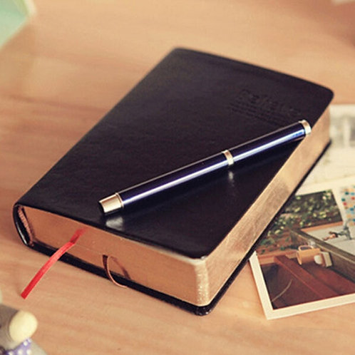 Vintage Leather Bible Notebook