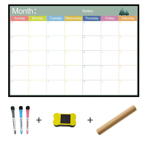 Magnetic Whiteboard | Monthly Planner