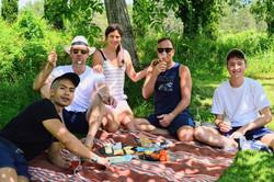 balades velo picnic