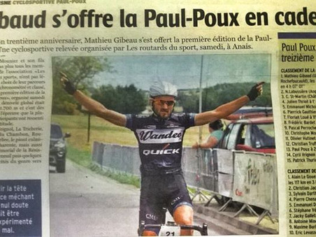 Gibaud wins in France