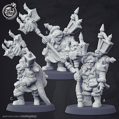 Dwarven Warlock