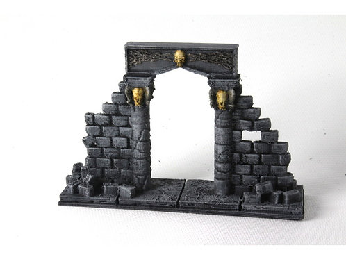 Openforge ruined stone archway