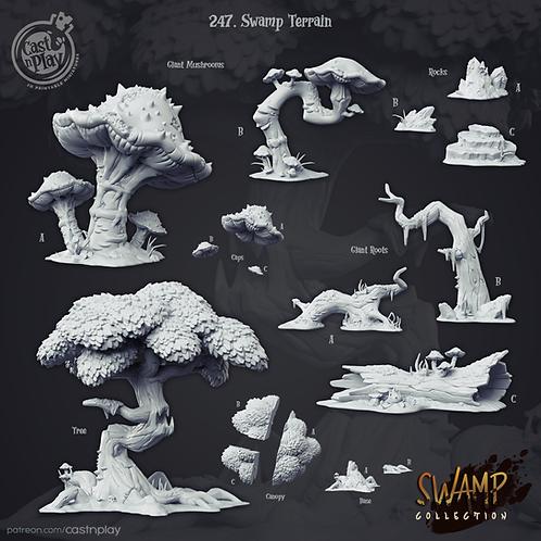 Swamp terrain packs