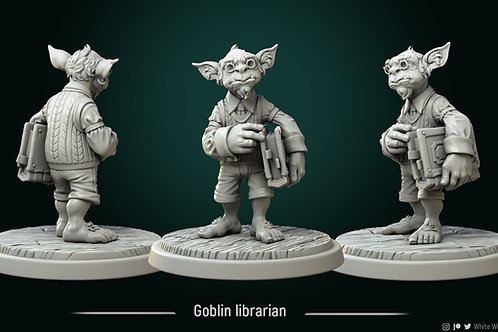 Goblin librarian
