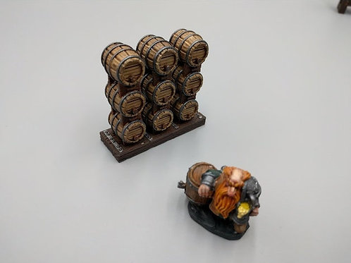 Heros Hoard barrel set