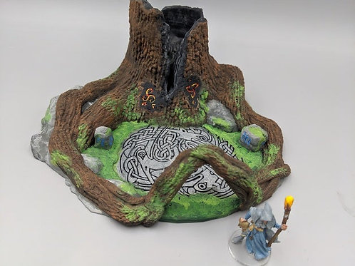 """OpenForge """"places of Power"""" Sundered Heartwood Tree"""