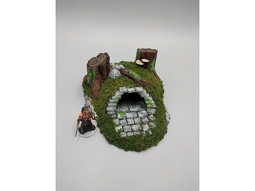 Heros Hoard Barrow entrance