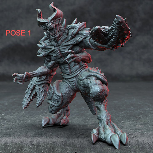 Glabrezu Demon (2 POSES)