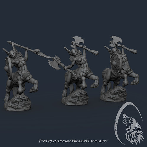 female centaur warriors