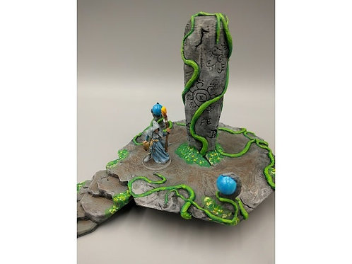OpenForge - Place of Power - Carved Jungle Pillar