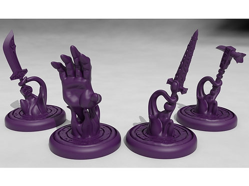 Spells Effects (bigbys hand and spiritual weapons)