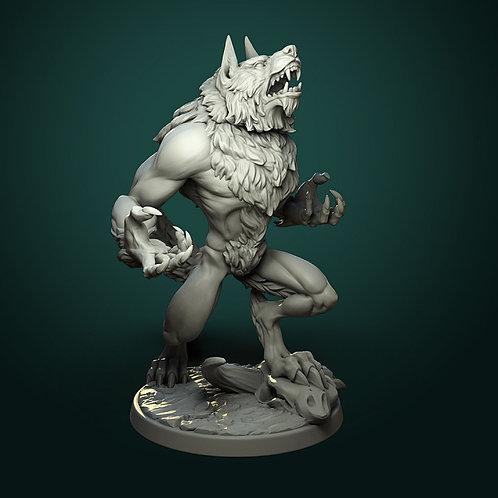 Furious werewolf