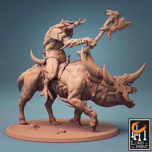 Mounted marauder demon