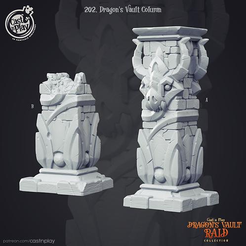 Dragons vault column