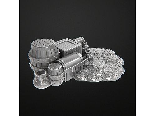 Treasure pile by Kinower