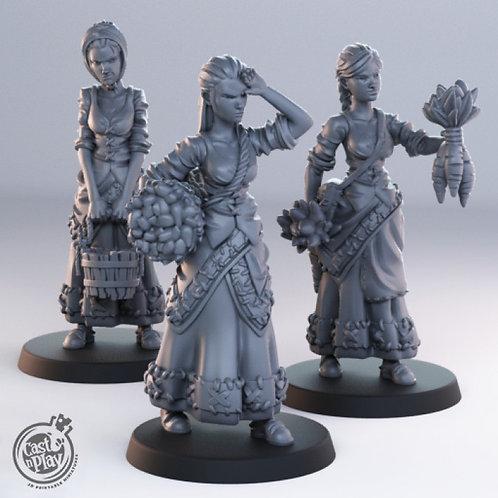 female townsfolk pack