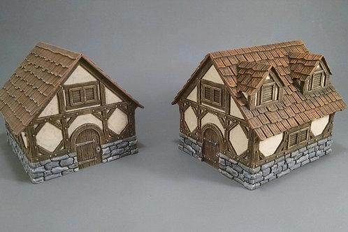 Hero's Hoard Cottages/Shops