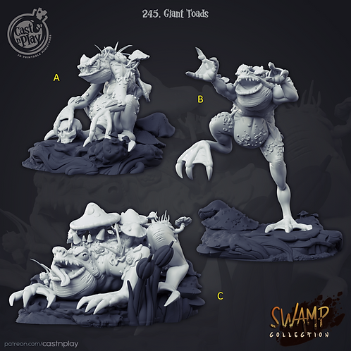 Giant toads