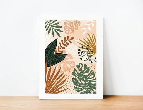 Affiche Matcha Design