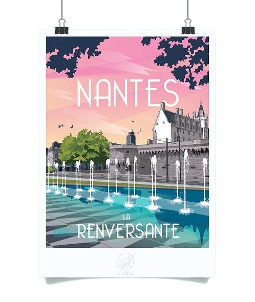 Affiche La Loutre Nantes Renversante