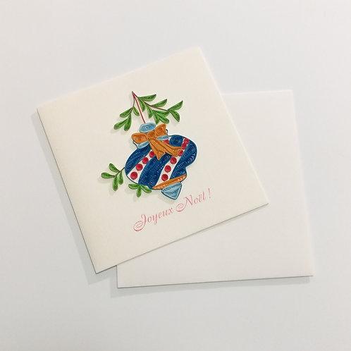 Carte de Noël Quilling Pascale Editions