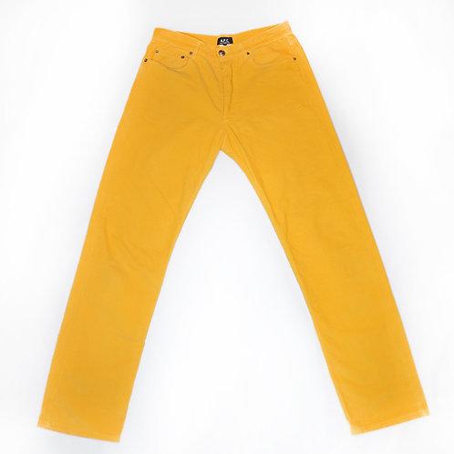 Vintage A.P.C Paris Pants (yellow)