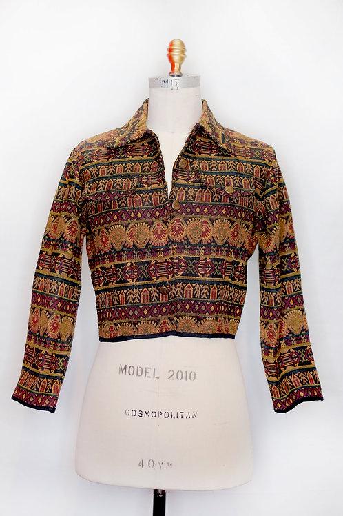 Vintage Patterned Jacket