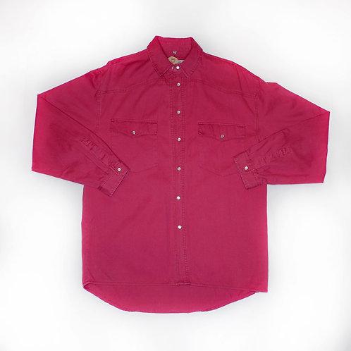 Vintage Red Denim Shirt