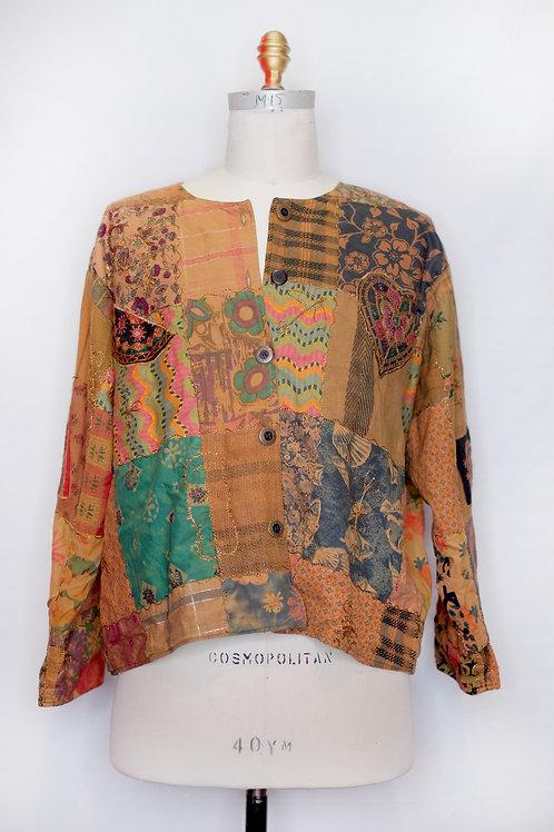 Vintage Patchwork Shirt