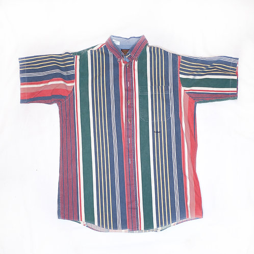 Multicolored Striped Shirt (vintage)