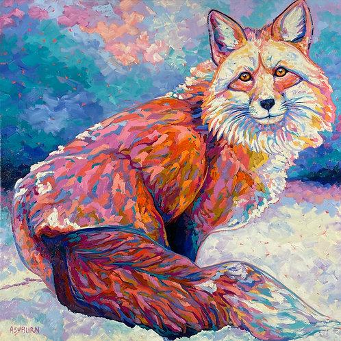 """""""Foxy"""" Print"""