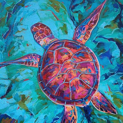 """Turtle Fever"" Print"