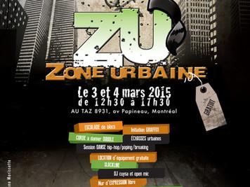 1ère édition du ZU - Zone Urbaine