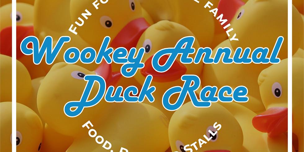 Wookey Annual Duck Race!