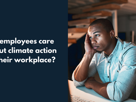 Employees Fight For Climate Change at Work