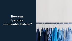 How can I practice sustainable style?
