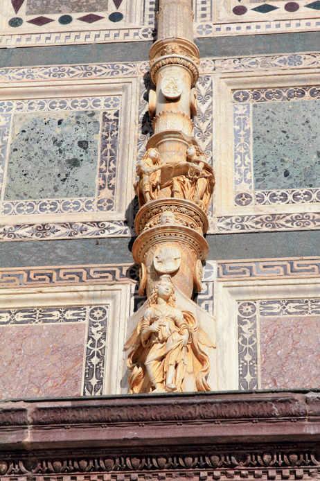 I decori della Certosa di Pavia