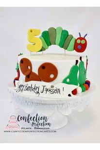 Very Hungry Caterpillar Cake CBB-137