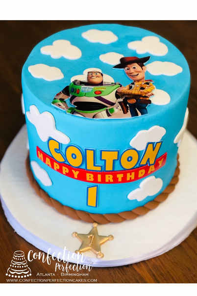Triple Layer Toy Story Theme Cake BC-145