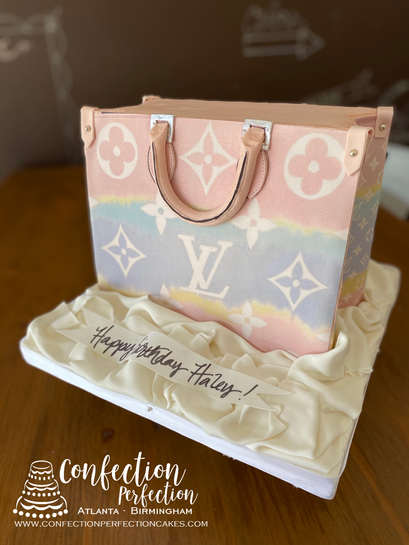 Louis Vuitton On The Go Tote Cake FB-187