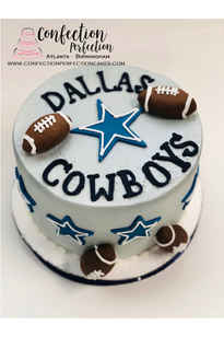 Dallas Cowboys Theme Cake MB-177